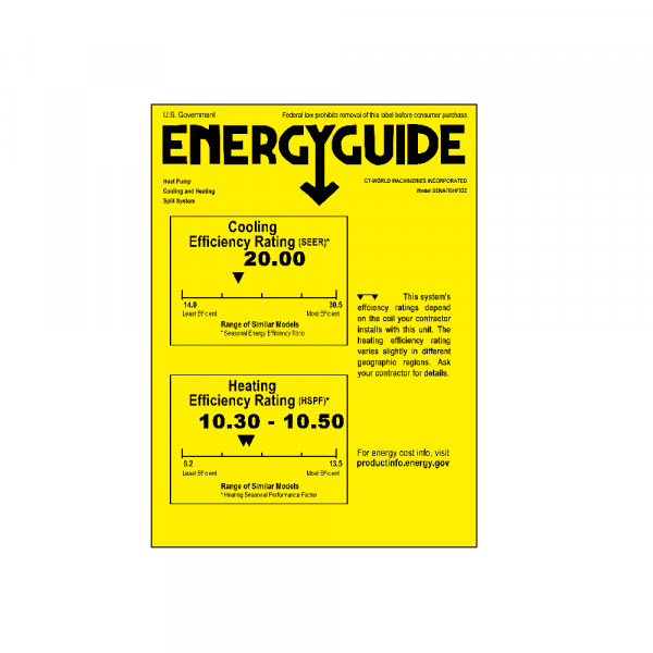 [:fr]18000 BTU Mini Split climatiseur-pompe à chaleur-Sena/18HF[:en]18000 BTU Mini Split Air Conditioner - Heat Pump - SENA/18HF[:]