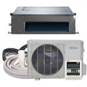[:fr]9000 BTU Climatiseur - Pompe à chaleur à conduit dissimulé - SENA/09HF/ID[:en]9000 BTU Concealed duct Air conditioner - Heat Pump - SENA/09HF/ID[:]