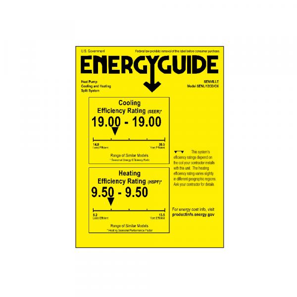 [:fr]12000 BTU Mini Split climatiseur-pompe à chaleur-SENL/12CD[:en]12000 BTU Mini Split Air Conditioner - Heat Pump - SENL/12CD[:]