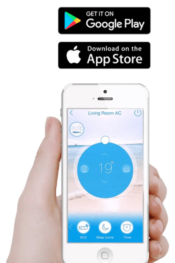 App climatiseur iphone